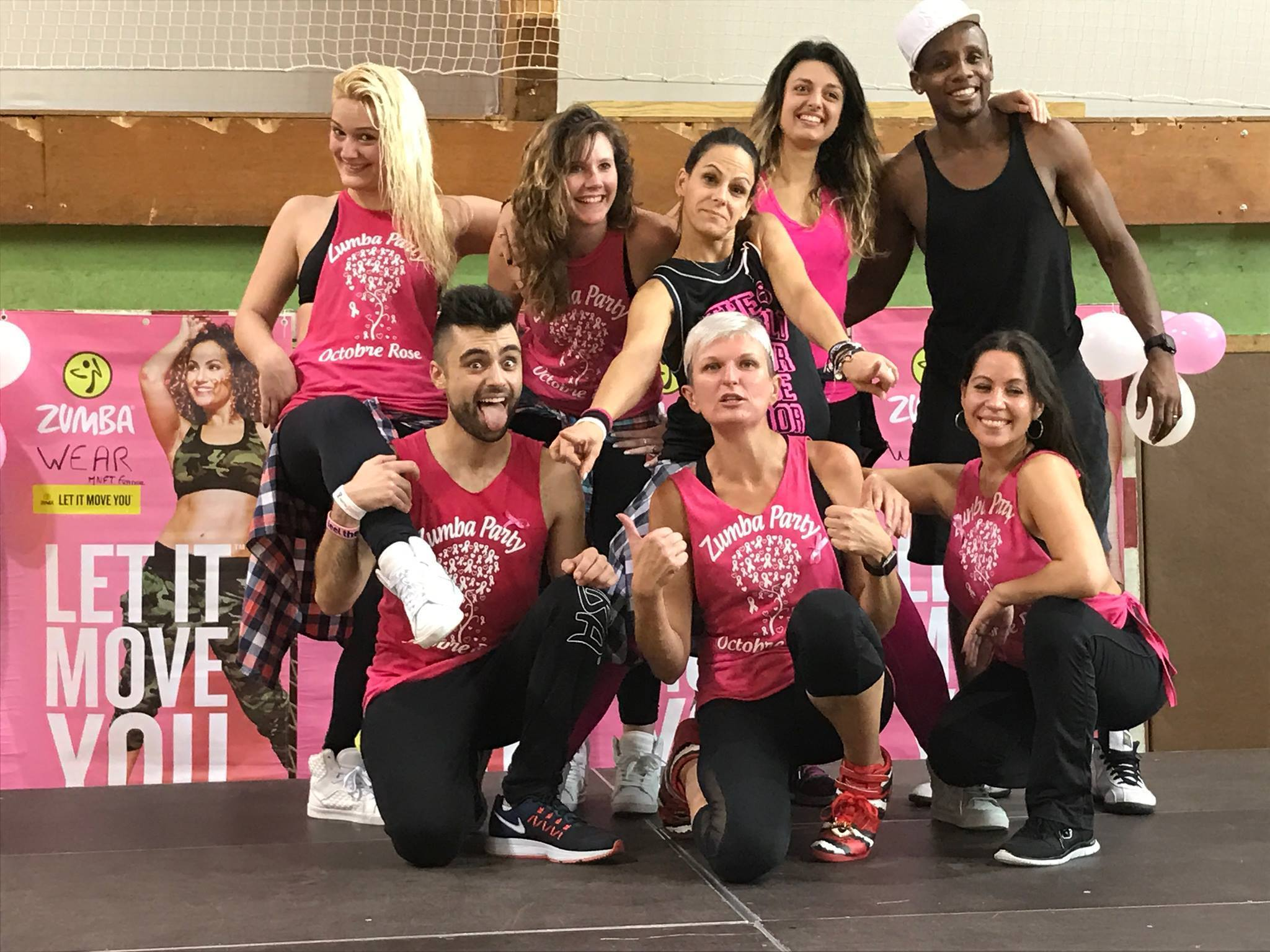 Zumba Pink Party pour Octobre Rose