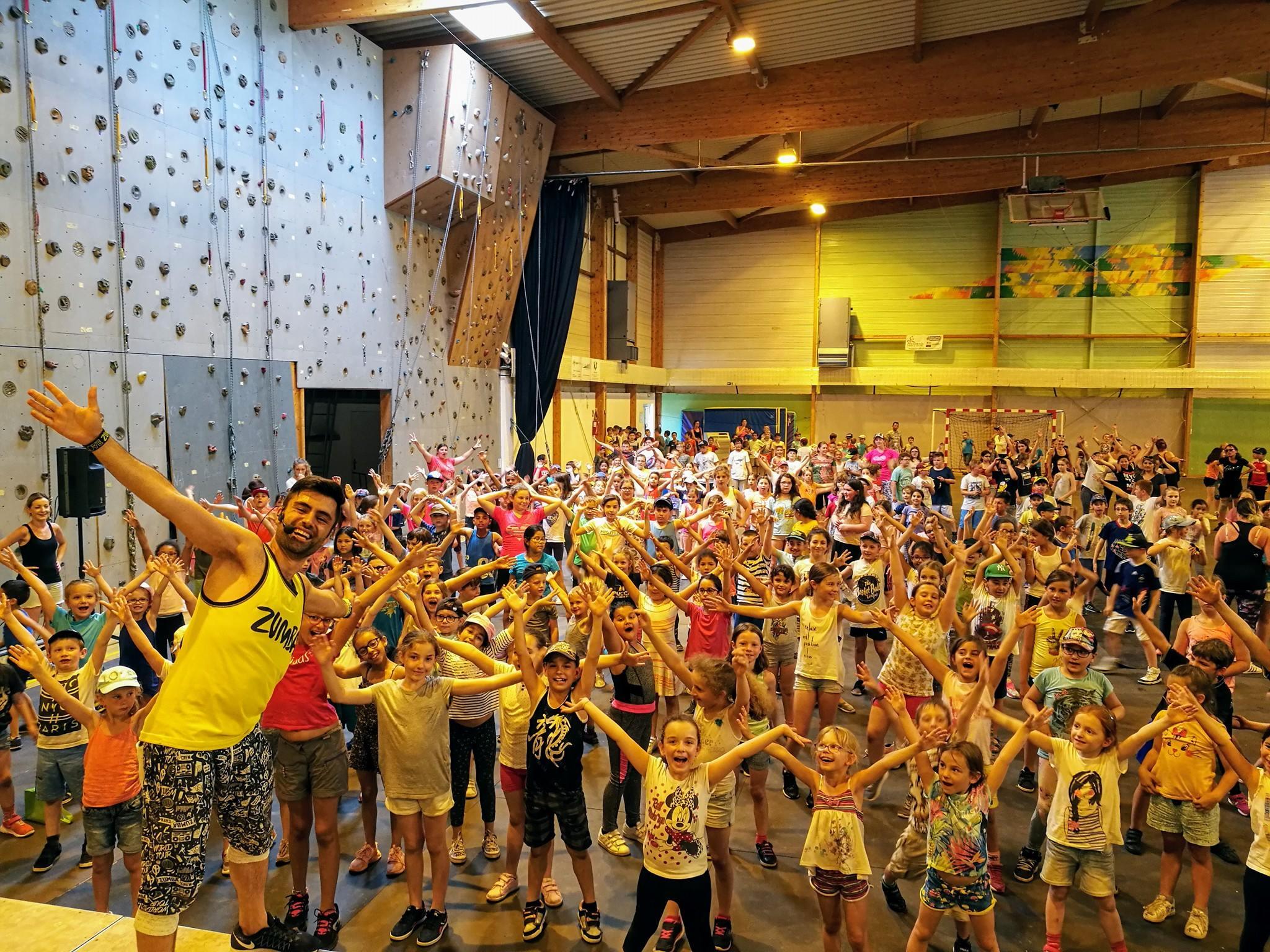 Animation Zumba Kids avec 400 enfants !